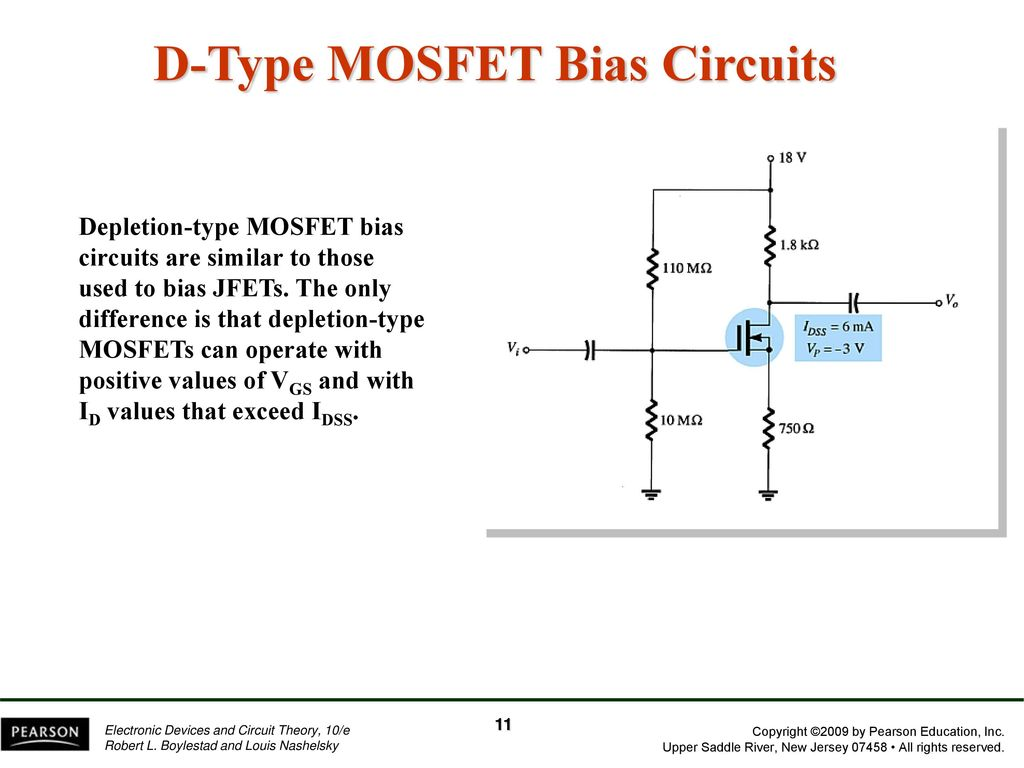 Chapter 7 Fet Biasing Ppt Download D Type Mosfet Bias Circuits
