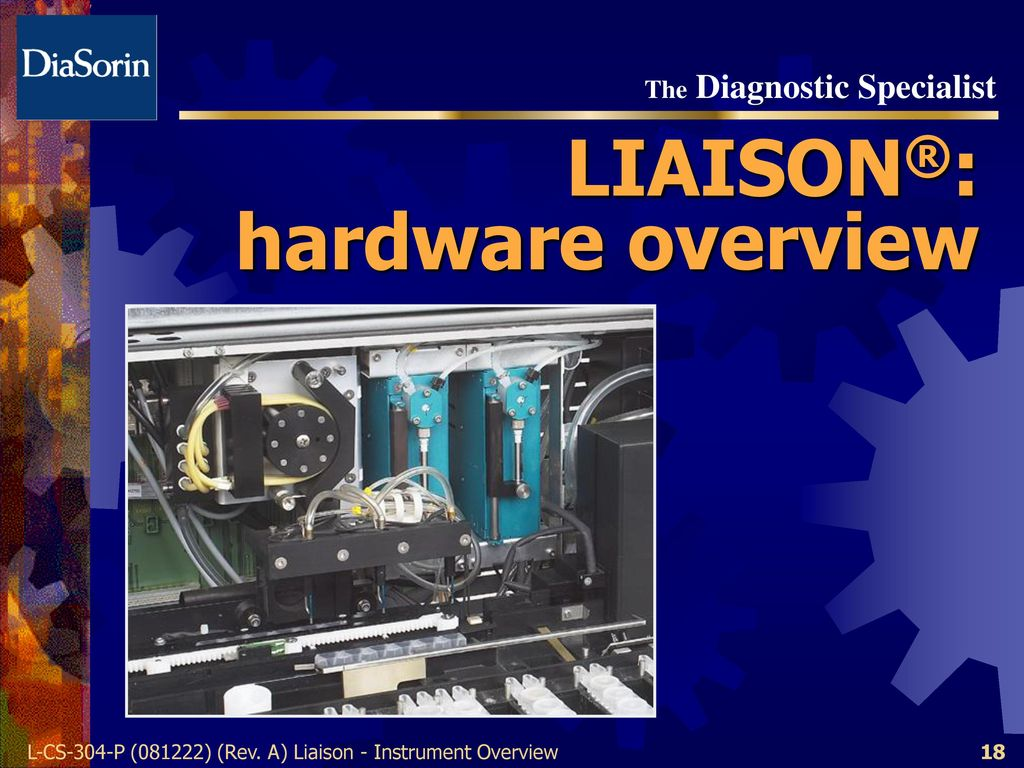 18 LIAISON®: hardware overview