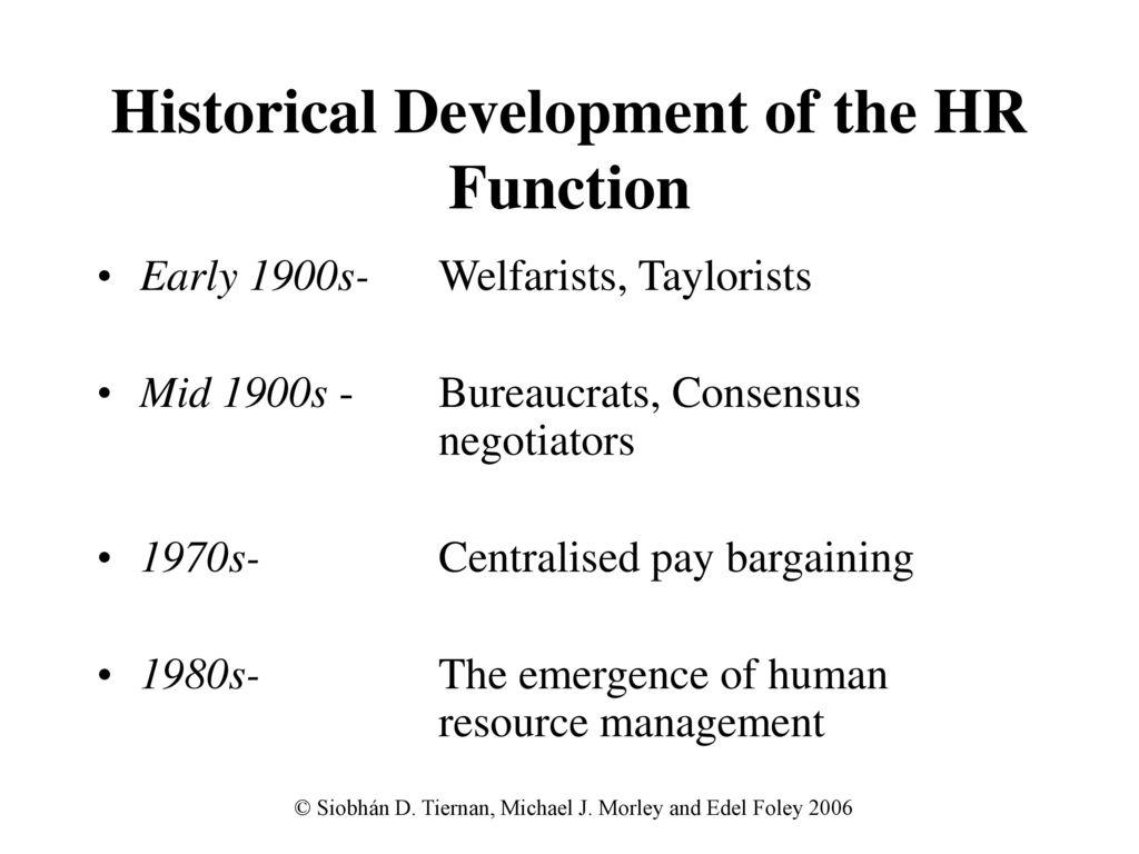 human bureaucracy in human resource management