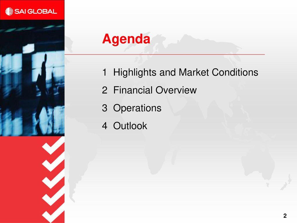 Sai Global Overview