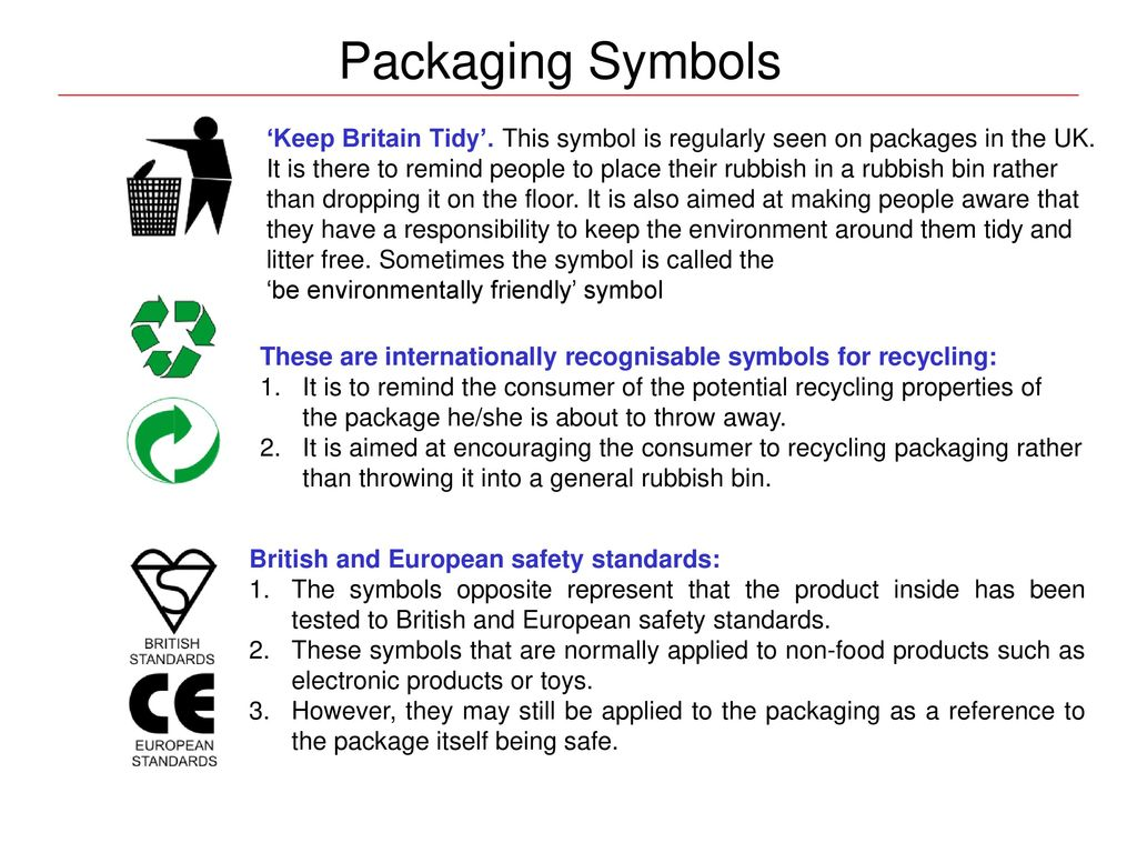 Packaging Understanding the principle of packaging - ppt