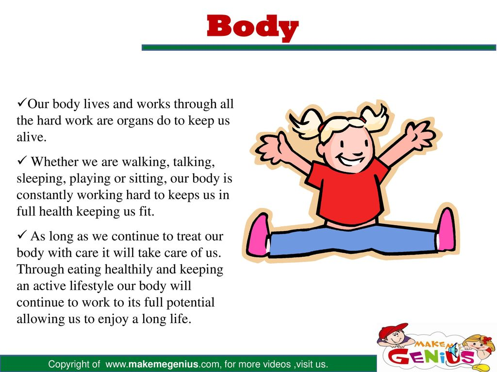 HUMAN BODY. - ppt download