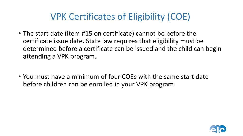 VPK Contract. - ppt download