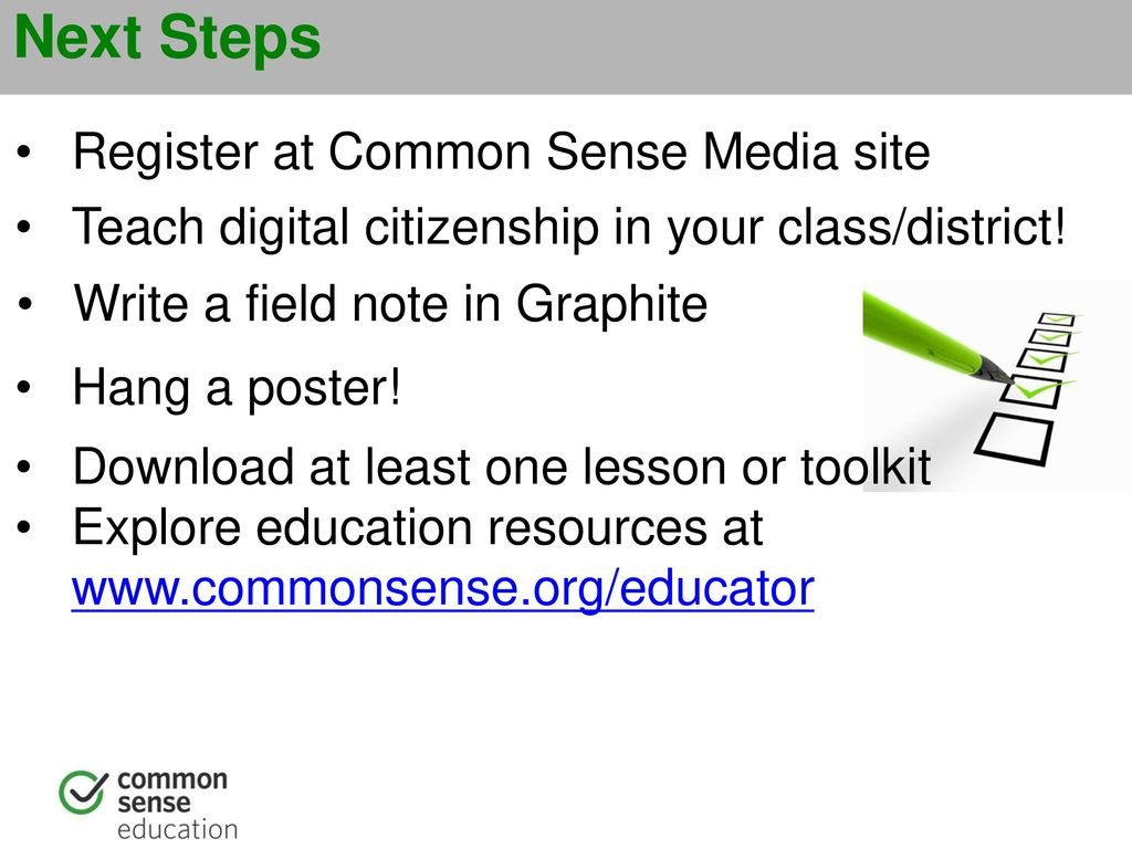 Building a Digital Citizenship Program -With Common Sense