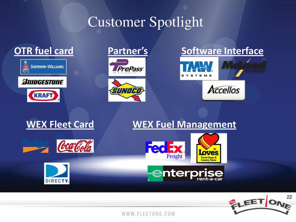 18 customer spotlight otr fuel card partners software interface wex fleet - Wex Fleet Card