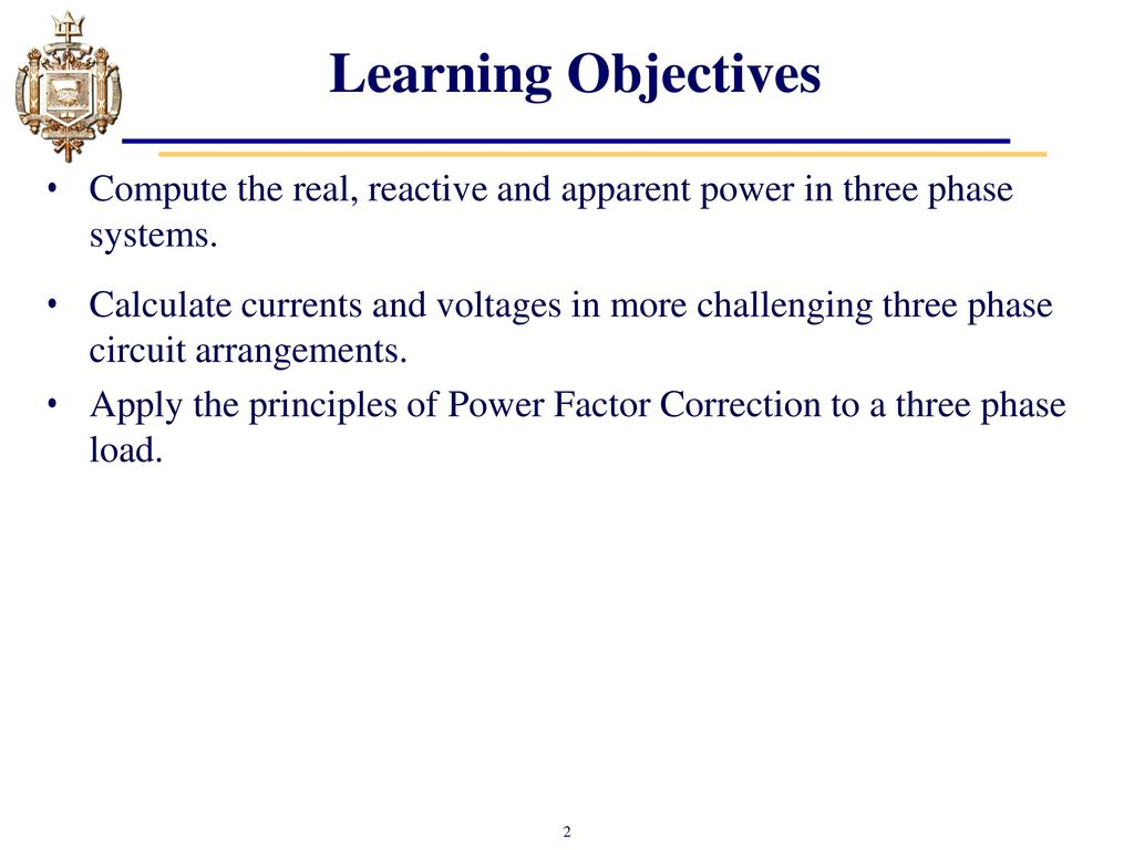 Lesson 33: Three Phase Power - ppt download