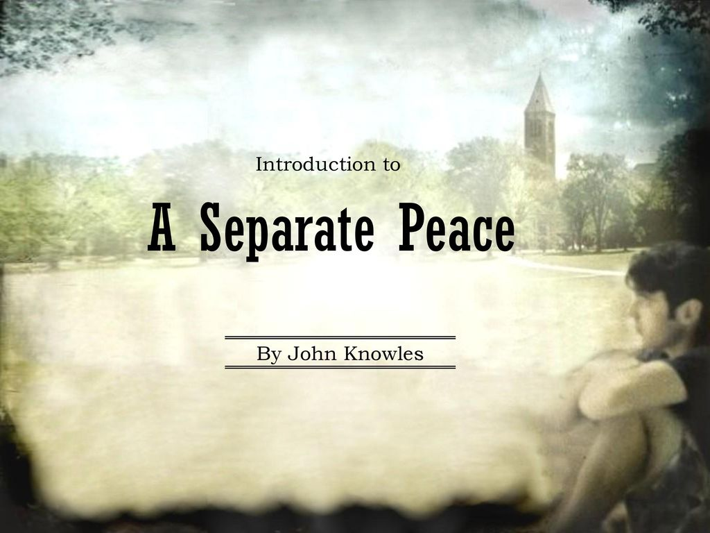 a separate peace finny how things change A separate peace has 173,529 ratings and 6,315  finny was a favorite of everyone fellow students used to look up to him as their inspiration and teachers were.