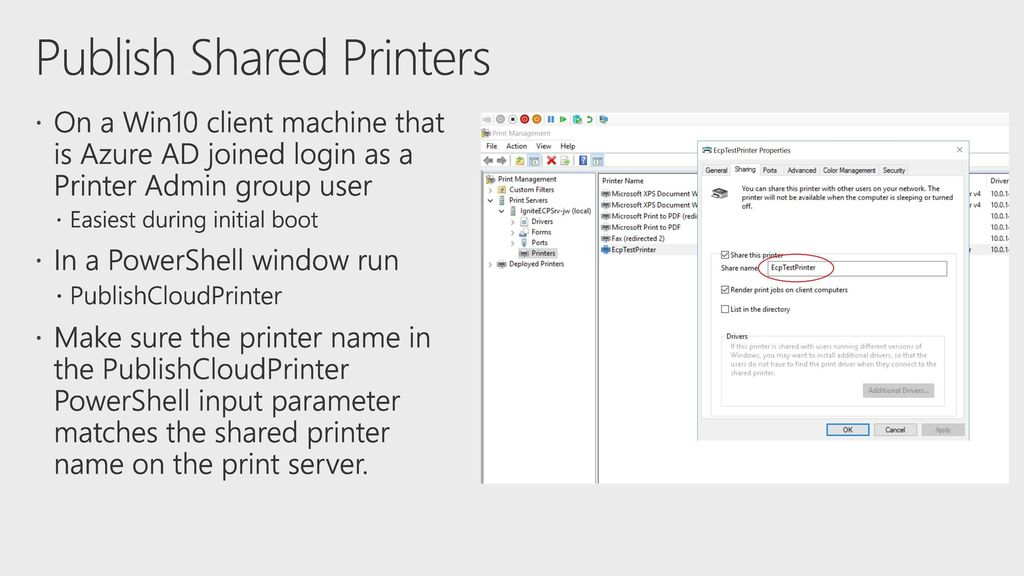 Solving your printing problems with Windows Server and Azure