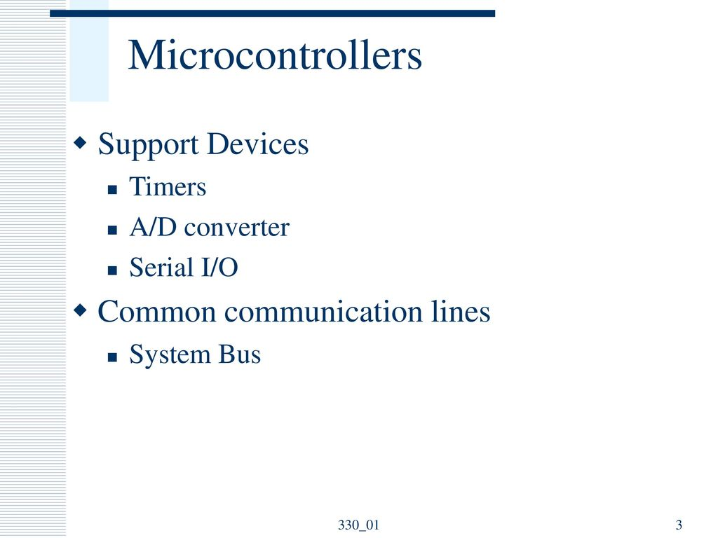 Microprocessor And Microcontroller Fundamentals Ppt Download Electronic Watchdog Circuit Free Circuits 8085 Projects Microcontrollers Support Devices Common Communication Lines Timers