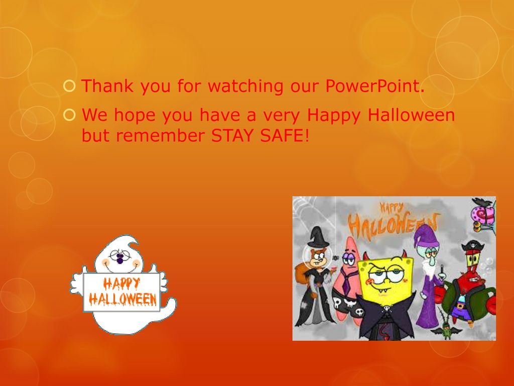 halloween safety by thomas and odhran ppt download