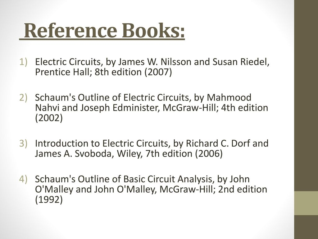 circuits and systems theory ppt download