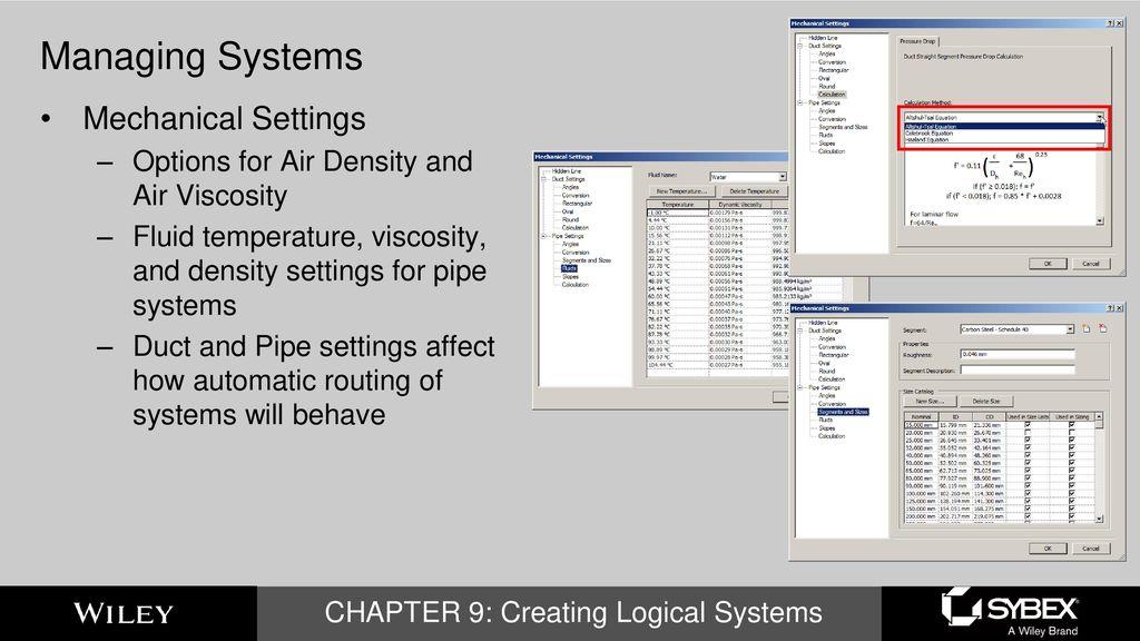 Mastering Autodesk Revit MEP 2016 CHAPTER 9: Creating Logical