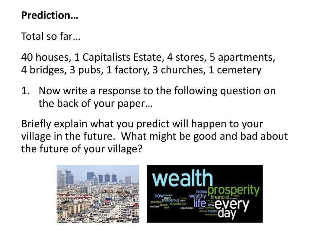 explain about your village