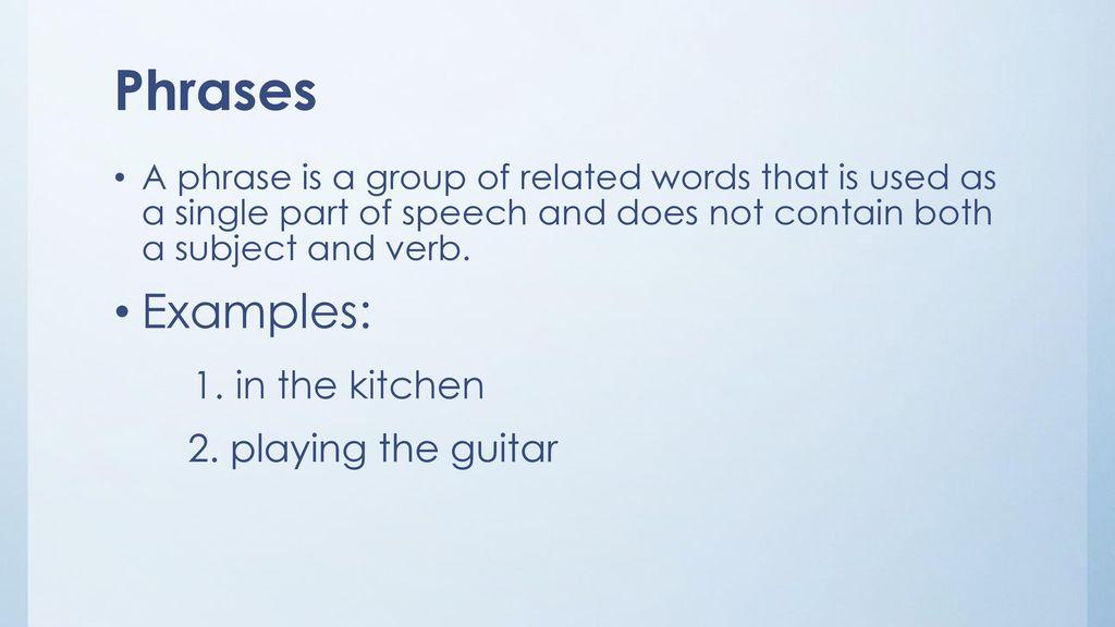 Prepositional VS  Verbal Phrases - ppt download