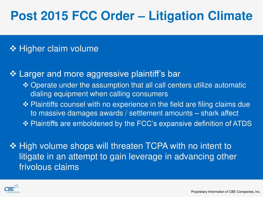 Implementing Upcoming TCPA and FDCPA Rules and Regulations - ppt