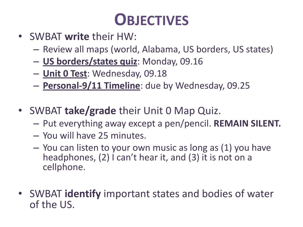 Right now sign up for your unit 0 packet at the supply center 16 objectives gumiabroncs Gallery