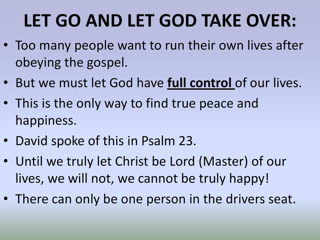 God's Rules For Happy Living - ppt download