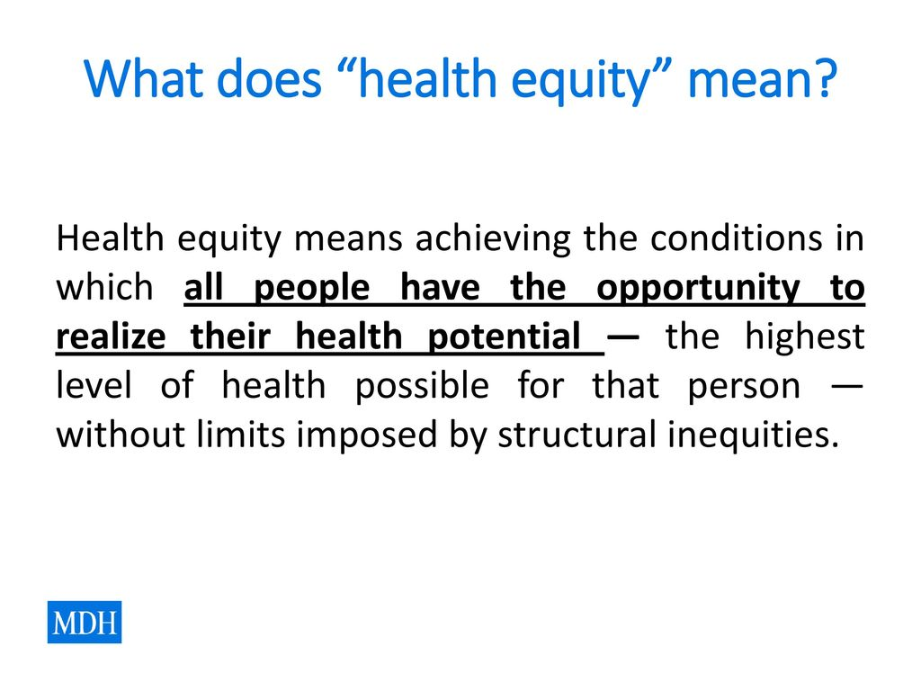 health equity: many voices, shared vision - ppt download
