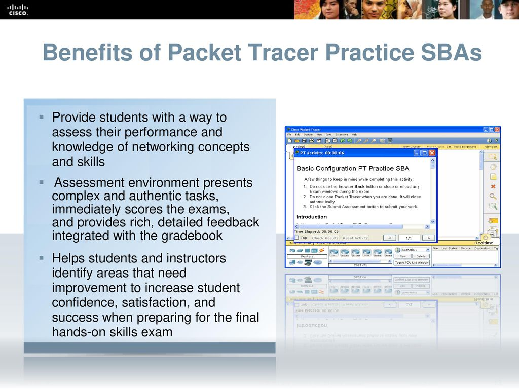 cisco packet tracer student vs instructor