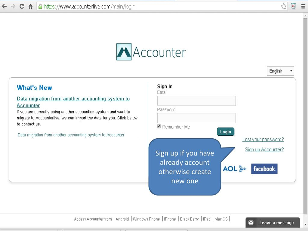 Introduction of Accounterlive - Online accounting software