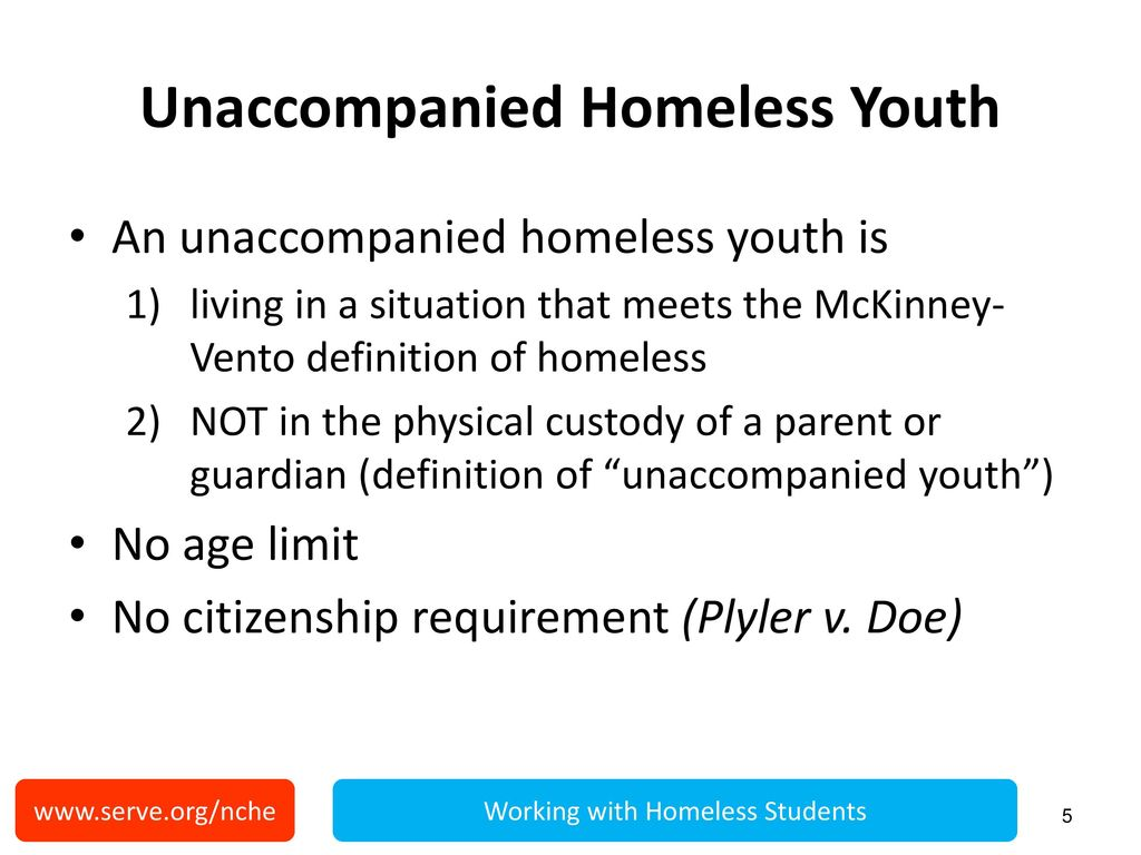 working with homeless students - ppt download