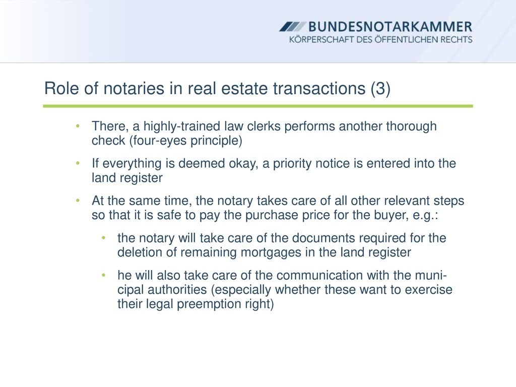 Notaries will notarize all real estate transactions in the Russian Federation 47