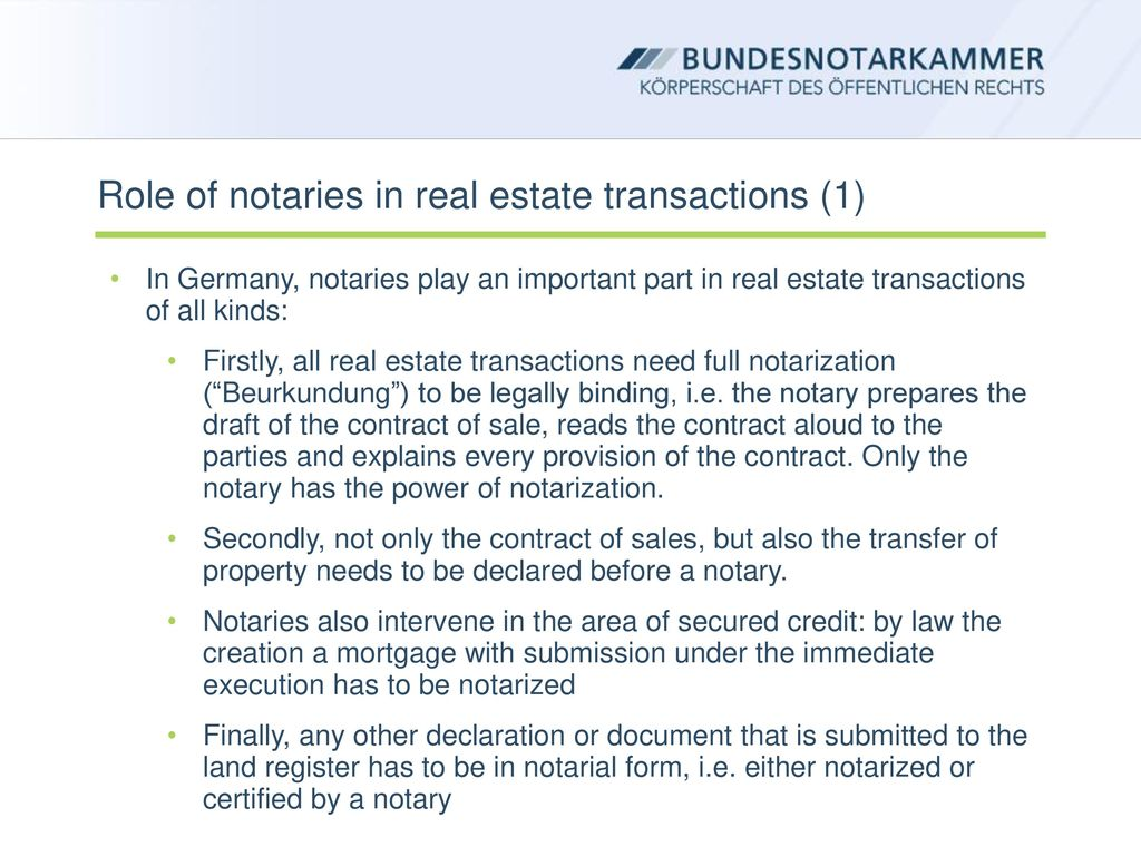 Notaries will notarize all real estate transactions in the Russian Federation 37