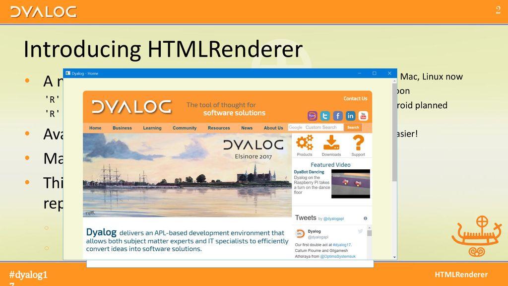 Multi-Platform User Interfaces using HTMLRenderer - ppt download