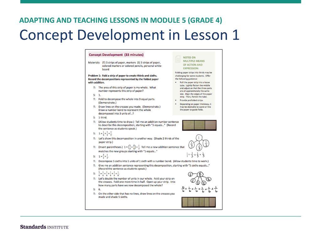 Adapting Curriculum Maps & Intro to Module 5 Grade 4 - ppt