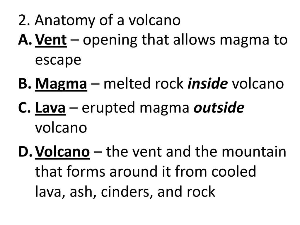 Date: Entry: Volcanoes Pg ppt download