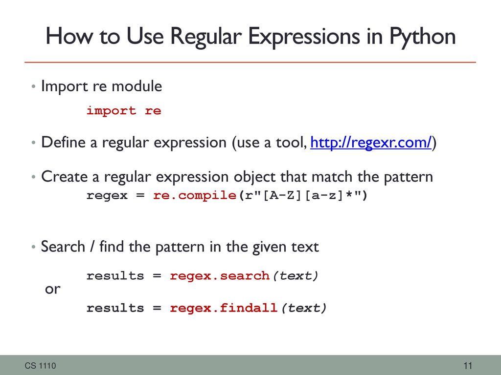 Regular Expressions Upsorn Praphamontripong CS ppt download