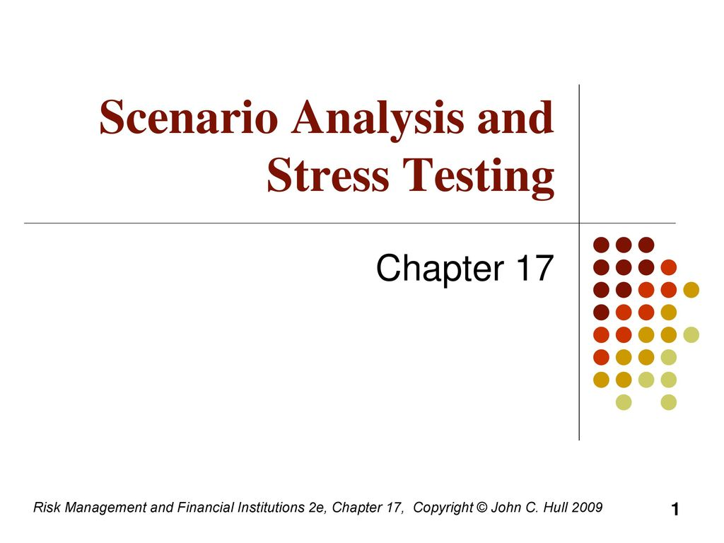 Stress Testing for Financial Institutions