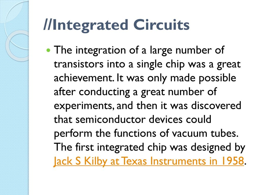 Integrated Circuits Ppt Download Electronic Circuit Chip As An Abstract Background Pattern 4