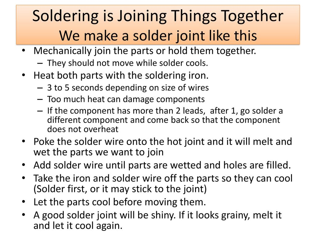 Introduction to Soldering (PCB Bread boards) - ppt download