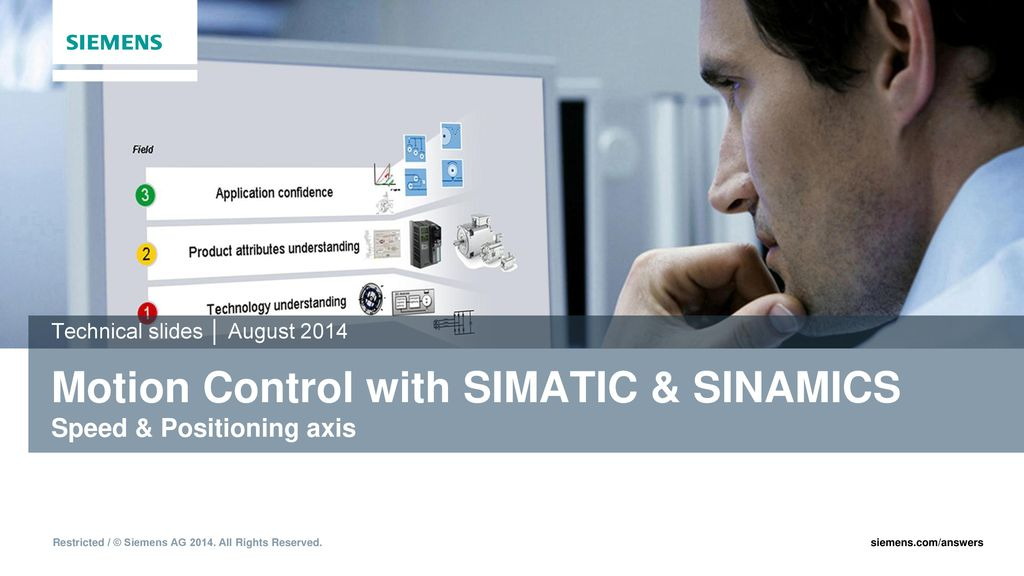 Motion Control with SIMATIC & SINAMICS Speed & Positioning