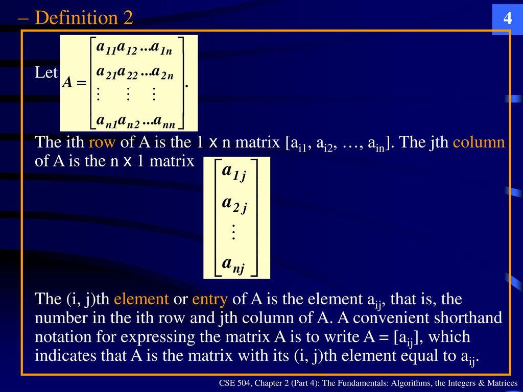 CSE 504 Discrete Mathematics & Foundations of Computer