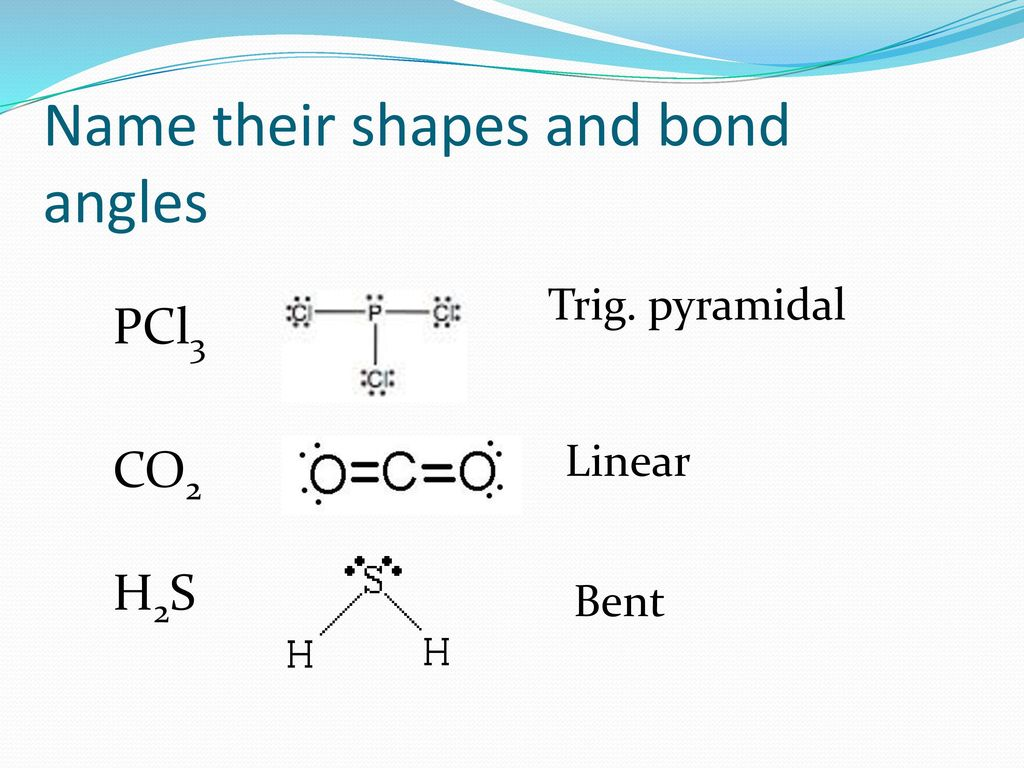 Bell Work P 263 Co2 H2s Draw These Lewis Structures And Name The Shape Ppt Download