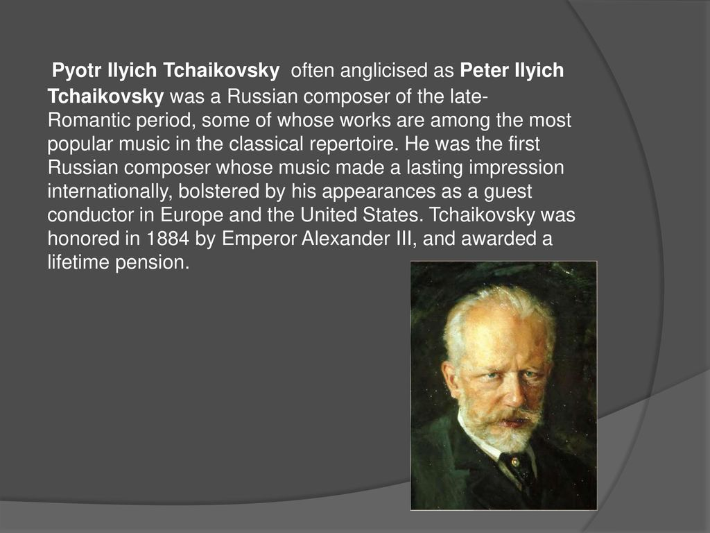 tchaikovsky romantic era