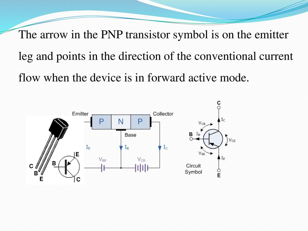 Auto Mains Disconnecting Dc Power Supply Ppt Download Regulator 33v 1a With Pnp Transistor Electronic Projects Circuits 10 The Arrow In Symbol Is On Emitter Leg And Points Direction Of Conventional Current Flow When Device Forward