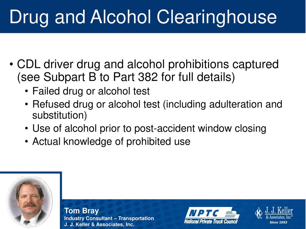 list of prohibited drugs for cdl drivers
