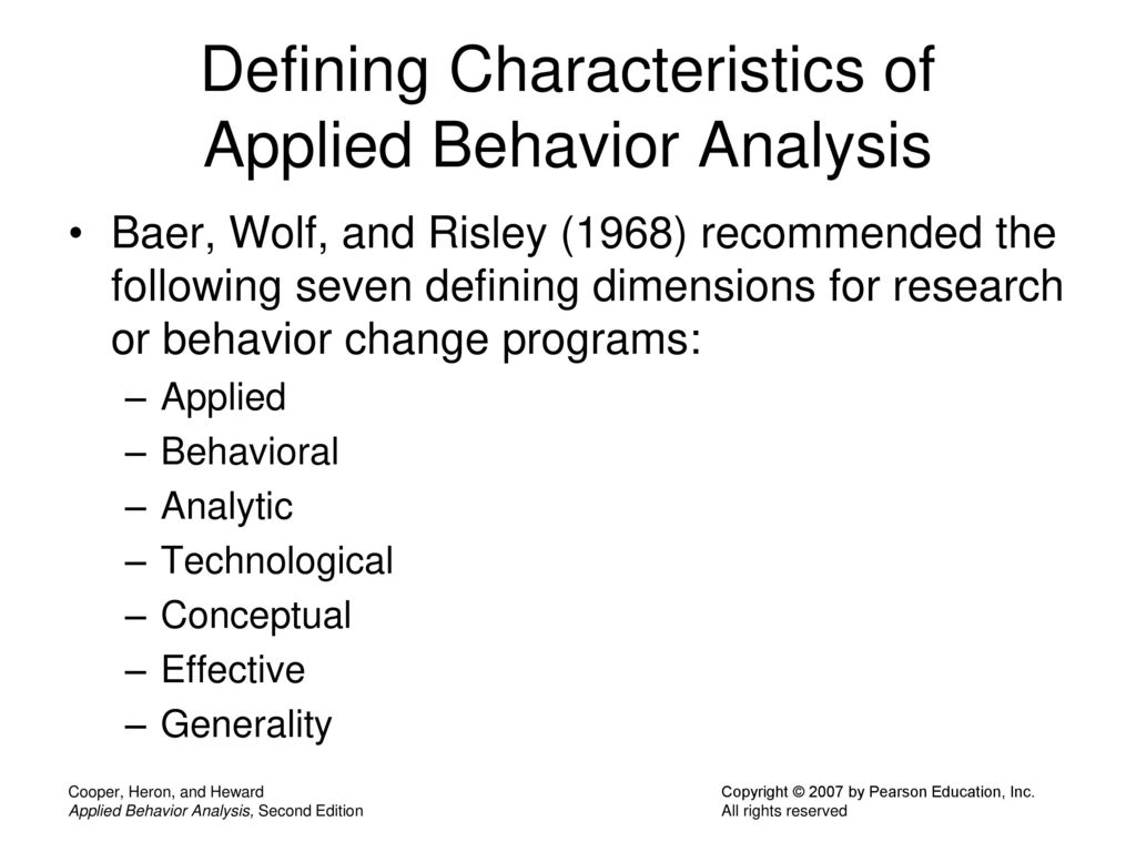 43 Defining Characteristics ...