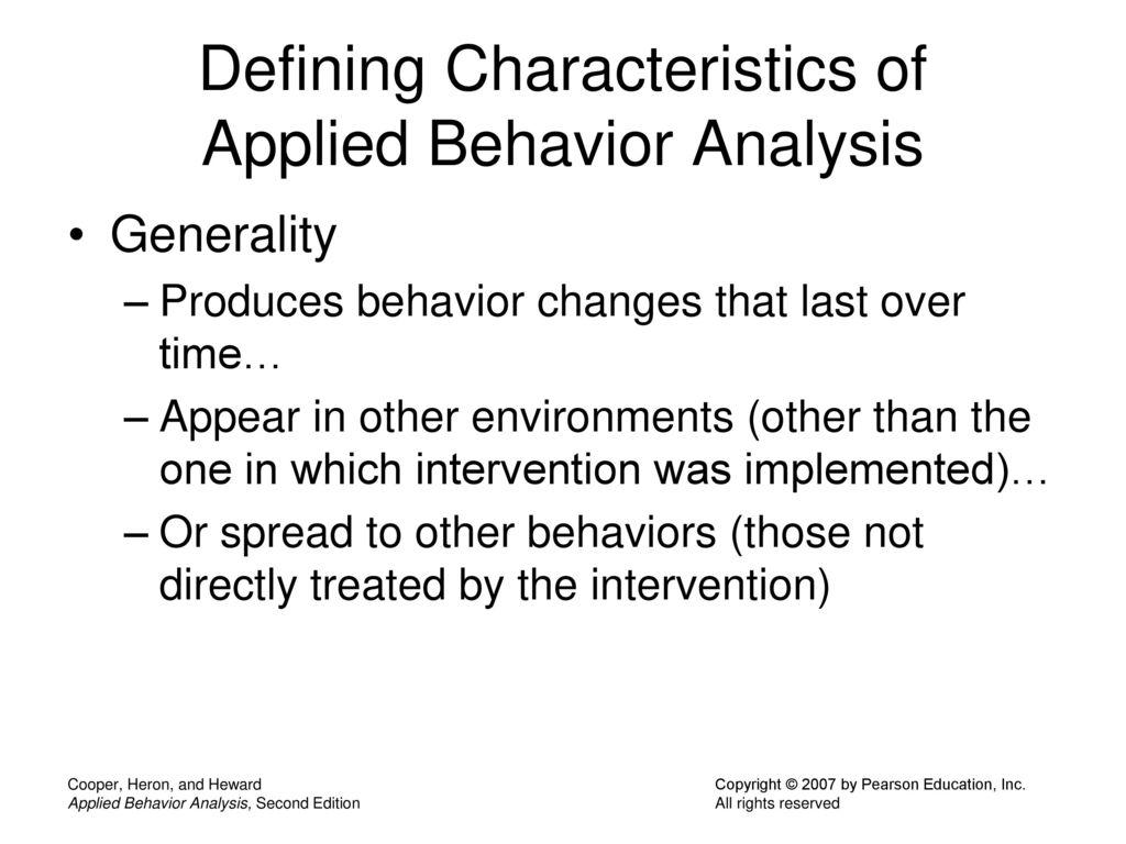 50 Defining Characteristics ...