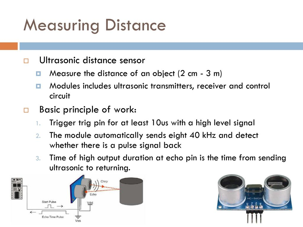 Assist Prof Rassim Suliyev Sdu Ppt Download 40khz Ultrasonic Transmitter Circuit Measuring Distance Sensor Basic Principle Of Work