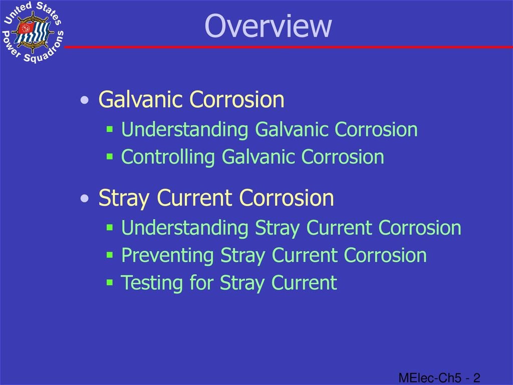 Stray Current Corrosion - ppt download