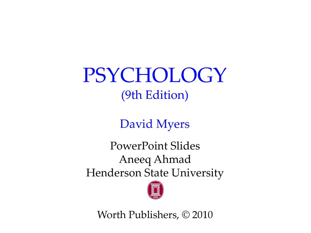 Amazon. Com: psychology in modules, 9th ed + video tool kit.