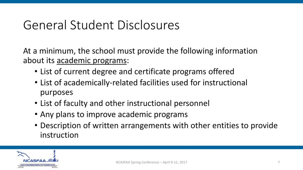 Student Consumer Information Ppt Download