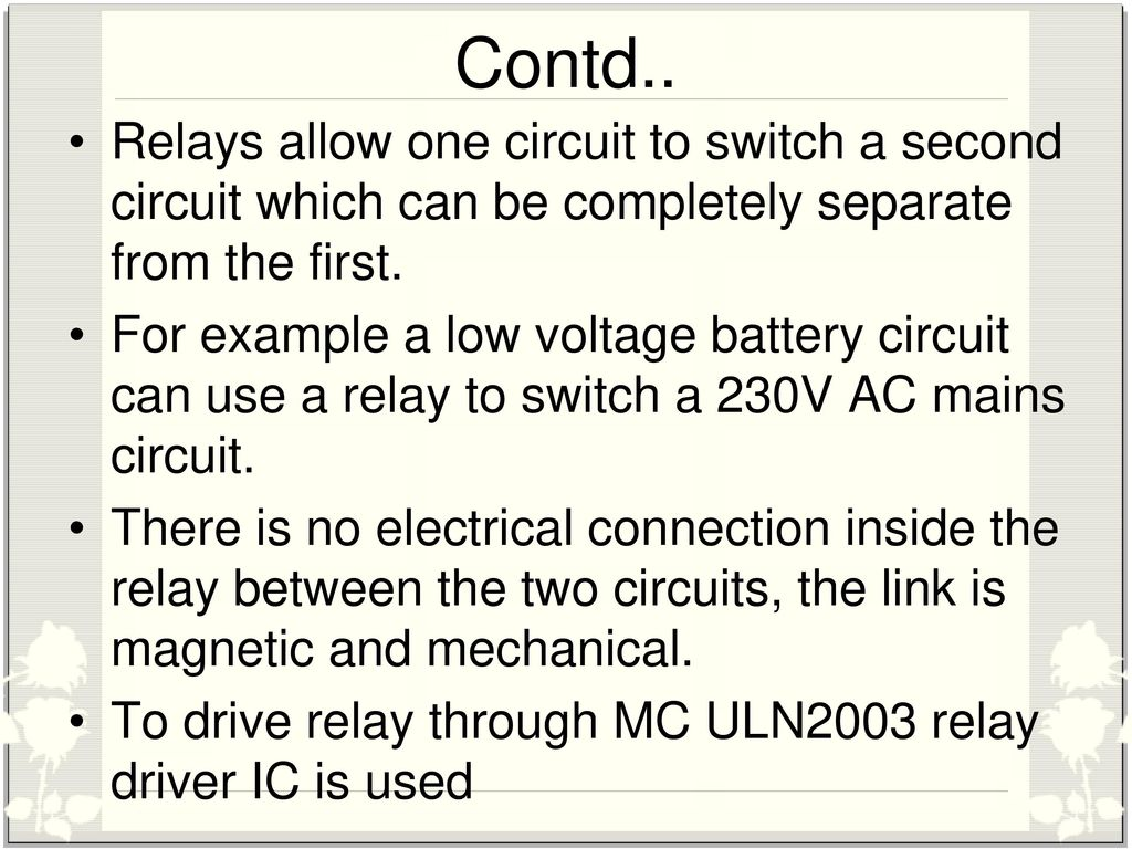 Three Phase Fault Analysis With Auto Reset On Temporary And Relay No Nc Connection Relays Allow One Circuit To Switch A Second Which Can Be Completely