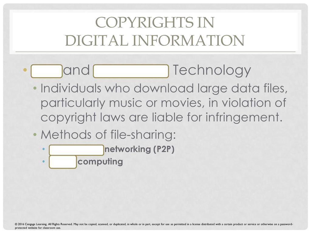 music file sharing laws