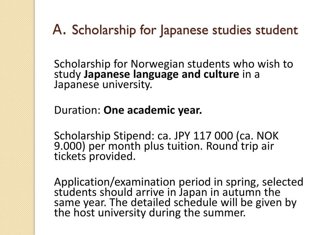 Japanese Government Scholarship Programs (MEXT-scholarship