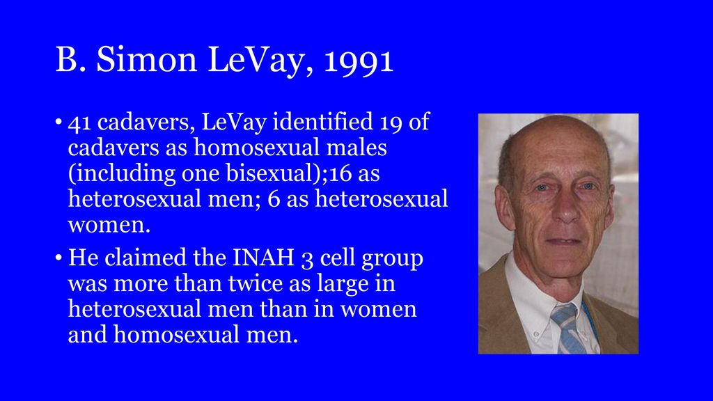 Levay 1991 homosexuality and christianity